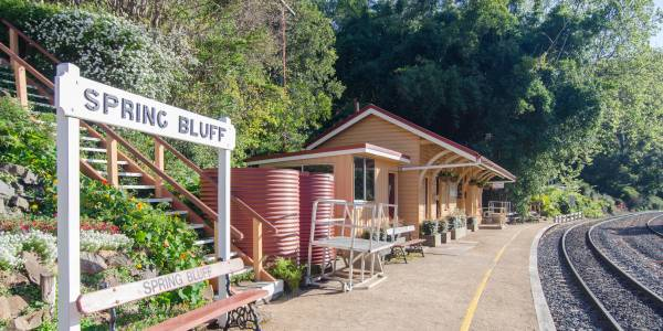 Tourism Darling Downs, Spring Bluff Railway Station, Cafes, Experience, Outdoors