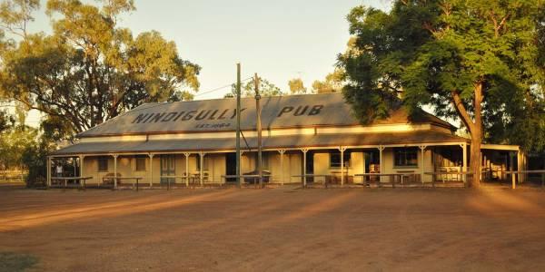 Tourism Darling Downs, Nindigully Pub, Camp Sites, Pubs & Bars